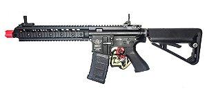 Fuzil Rifle Arma de Airsoft Elétrica Bolt B4FS URX2 com Blowback e Recuo