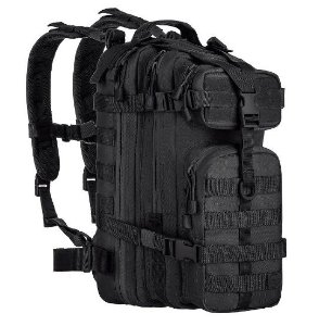 Mochila Tática Militar Airsoft Invictus Assault Black