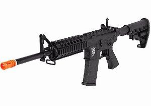 Fuzil Rifle Arma de Airsoft Elétrica APS M4 Ris Kompetitor com Blowback