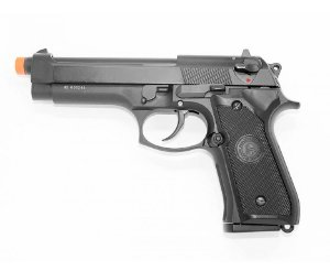 Pistola Airsoft GBB Gas Blowback Double Bell M9 Beretta 726 Preto