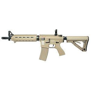 Fuzil Rifle Arma de Airsoft Elétrica G&G CM16 Mod 0 Desert
