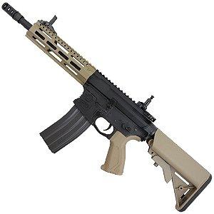 Fuzil Rifle Arma de Airsoft Elétrica G&G CM16 Raider 2.0 Desert Tan
