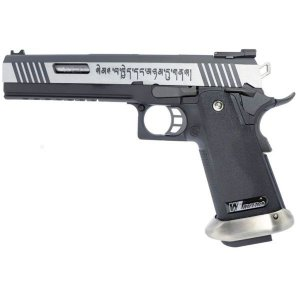Pistola Airsoft GBB Gas Blowback WE Hi-Capa T-Rex 2 Tone SV