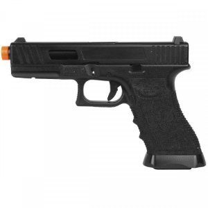 Pistola Airsoft GBB Gas Blowback Double Bell Glock G17 744 Preto