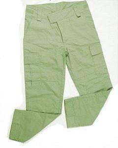 Calça Militar Tática Combat Fogaça Verde Oliva