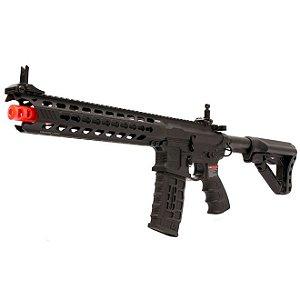 Fuzil Rifle Arma de Airsoft Elétrica G&G CM16 Predator
