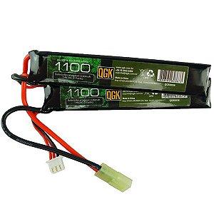 Bateria QGK Li-Po 7.4V 1100mAh 20C