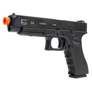 Pistola de Airsoft a Gás Green Gas GBB G34 DB-765