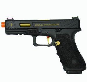Pistola Airsoft GBB APS GOLD PHANTOM