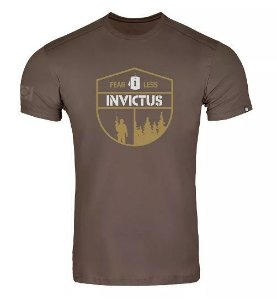 T-shirt Invictus Concept Fearless