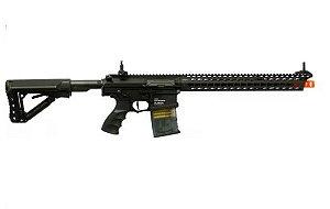 Fuzil Rifle Arma de Airsoft Elétrica G&G TR16 MBR 308 WH