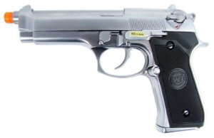 PISTOLA AIRSOFT GBB GAS BLOWBACK WE M-92 BERETTA SV