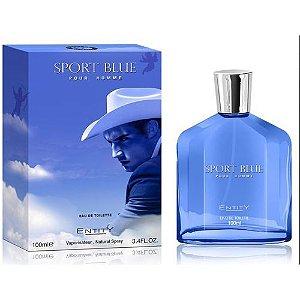 Perfume Entity Sport Blue Masculino Eau de Toilette 100ml