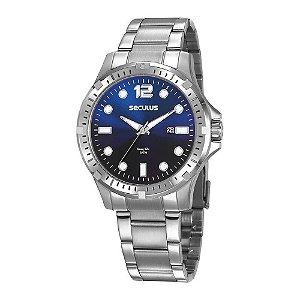 Relógio Seculus Masculino 20800G0SVNA1 Prata