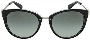 Óculos de Sol Michael Kors MK6039 - Preto/Prata