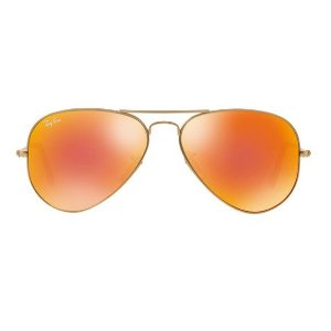 Ray Ban aviador large metal lentes espelhadas RB3025L