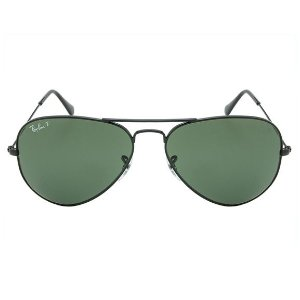 Ray Ban Aviator - Polarizado - Preto - RB3025L 002-58/58