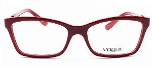 Armação Vogue Vermelha VO2982L 2348