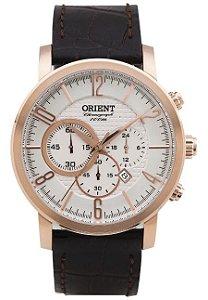Relógio Orient Cronograph MRSCC008 S2MX