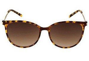0d450634a3884 Óculos de Sol Feminino Ana Hickmann Tartaruga Lente Marrom