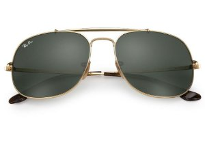 Ray Ban General Dourado