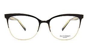 Armação Ana Hickmann Ah1348 Dourado