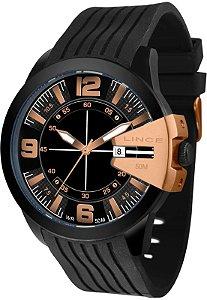 Relógio lince Preto esportivo