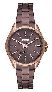 Relógio Orient Feminino Rosé Swarrovski FTSS0068N1NX