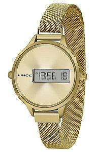Relógio Feminino Digital Led Lince SDG4635L