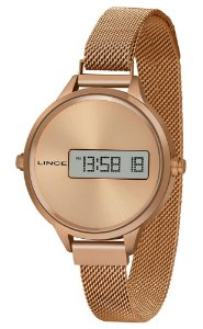 Relógio Feminino Digital Led Lince SDR4635L