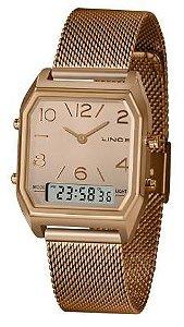 Relógio Lince Feminino Rosé LARH118L