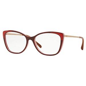 Armação de óculos Grazi Feminina Vermelha GZ3055 F918