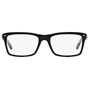 Óculos Ray-Ban Preto/Translúcido RB5287