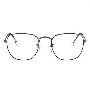 Óculos Ray Ban Frank Prata Metal RB3857-V