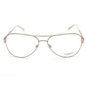 Óculos Aviador Ana Hickmann Bege AH1206