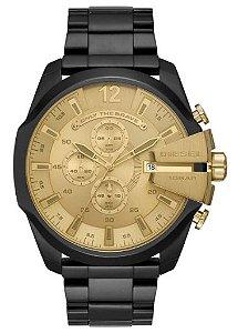 Relógio Diesel DZ4485/1PN Preto e Dourado