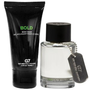 Kit GAP G7 Bold Masculino- Perfume 30ml + Body Wash 50ml