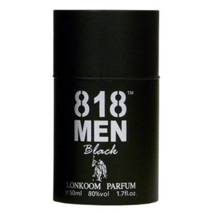 Perfume Lonkoom 818 Men Black EDT Masculino 30ml