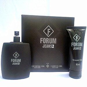 Kit Fórum Jeans 2 - Perfume 100ml + Shower Gel 100ml