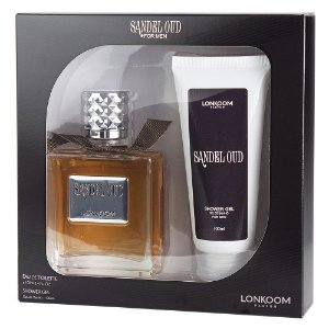 Kit Lonkoom Sandel Oud - Perfume 100ml + Shower Gel 100ml