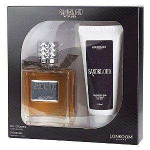 Kit Lonkoom Sandel Oud - Perfume 100ml + Shower Gel 100ml