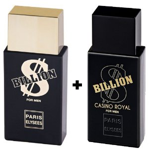 Combo Paris Elysees Billion 100ml + Billion Cassino Royal 100ml