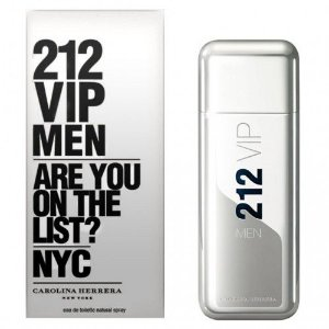 Perfume Carolina Herrera 212 VIP Men EDT Masculino 100ml