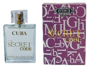 Perfume Cuba The Secret Code EDP Masculino 100ml