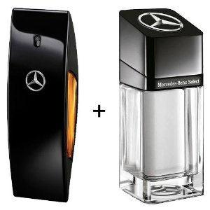 Combo Mercedes-Benz Club Black 100ml + Mercedes -Benz Select 100ml
