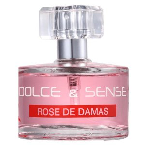 Perfume Paris Elysees Dolce & Sense Rose de Damas EDP Feminino 60ml