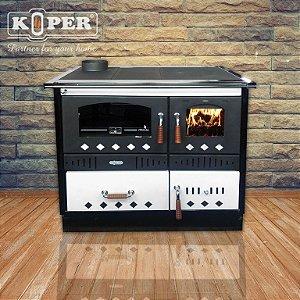 Fogão à lenha Koper SPECIAL 90 GRE