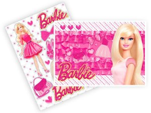 Kit Decorativo Barbie Core 66x48cm
