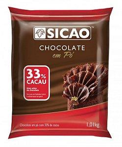 Chocolate Em Pó Sicao 33% -- Callebaut