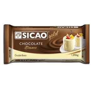 Chocolate Branco Gold Barra 1,01 kg